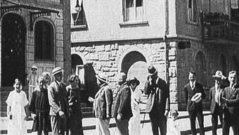 Auch vor 100 Jahren waren Vandalenakte in Baden schon ein Problem.(Archvibild)