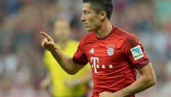 Lewandowski schoss Bayern in Hoffenheim spät zum Sieg