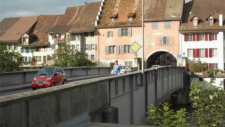 Reussbrücke Mellingen: Instandsetzung in den nächsten fünf Jahren. wal/Archiv