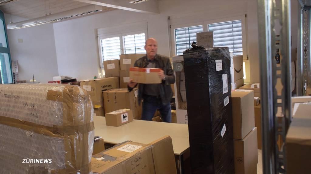 Schweizer Bestellungen stapeln sich in Deutschen Paket-Stationen