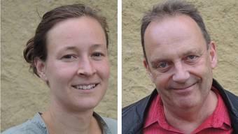 Die neue Thik-Leitung Nadine Tobler und Markus Lerch.