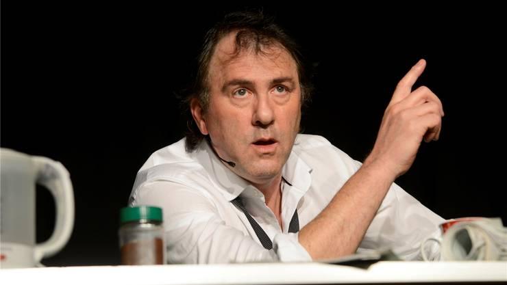 Meister der leisen (Zwischen-)Töne: Stefan Waghubinger im Kleintheater Grenchen. Hansjörg Sahli