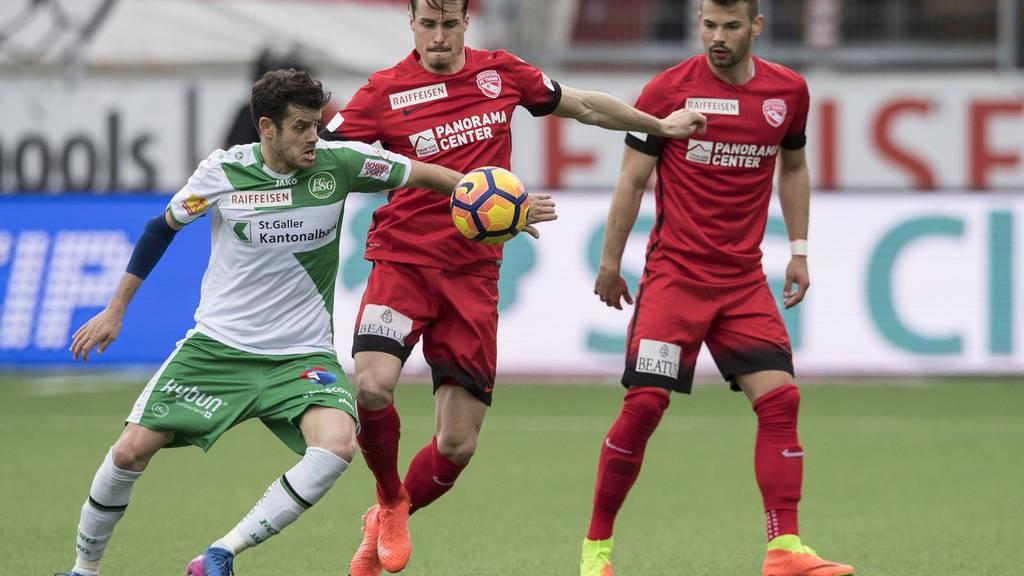 Der FC St.Gallen liegt gegen den FC Thun in Führung. Zu verdanken ist dies nicht zuletzt Torwart Daniel Lopar.
