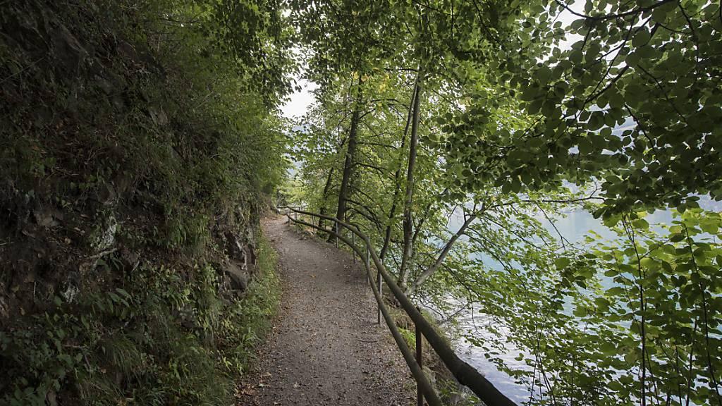 Der «Weg der Schweiz» führt vorbei an der «Tellsplatte» in der Gemeinde Sisikon. (Archivbild)