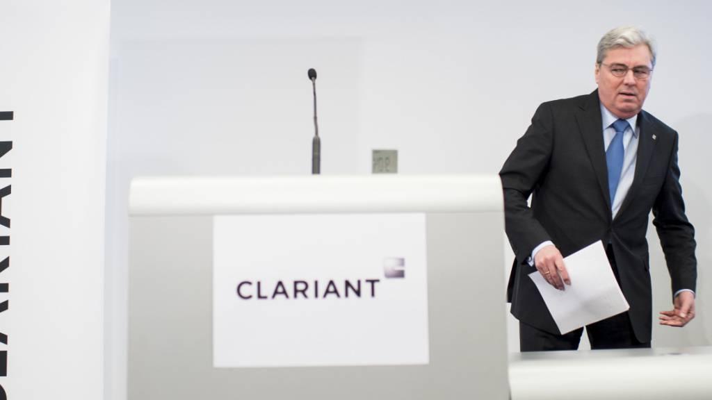 Clariant-Verwaltungsratspräsident Hariolf Kottmann tritt zurück