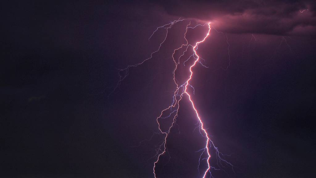 Gewitterreicher Sommer bringt 440'000 Blitze