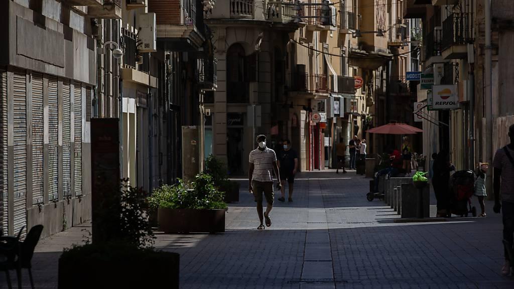 Streit um Corona-Ausgehsperre in Katalonien spitzt sich zu
