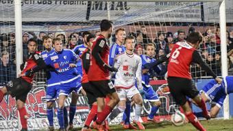 FC Wohlen - FC Aarau, 29.11.2015, Derby, Kantonsderby