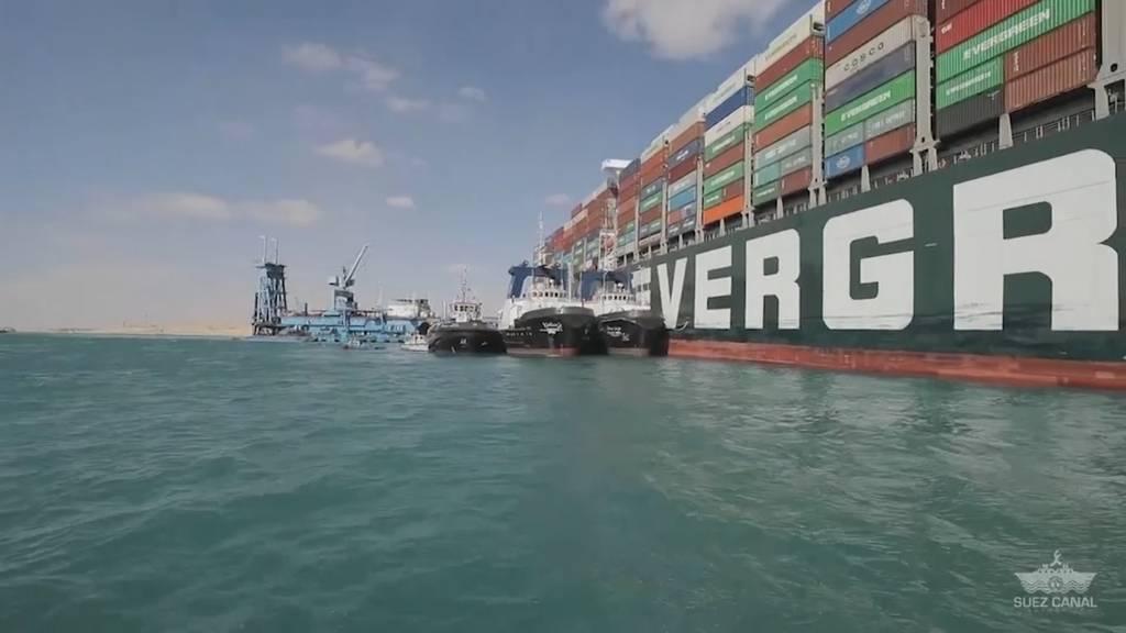 «Ever Given» vollständig geborgen: Suezkanal wieder frei