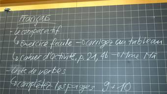 Nicht alle Solothurner Sek-Lehrerinnen und -Lehrer sind glücklich mit dem neuen Französisch-Lehrbuch, das sie ab Sommer erhalten. Bei der progymnasialen Sek P wird es nun gar nicht erst eingeführt.