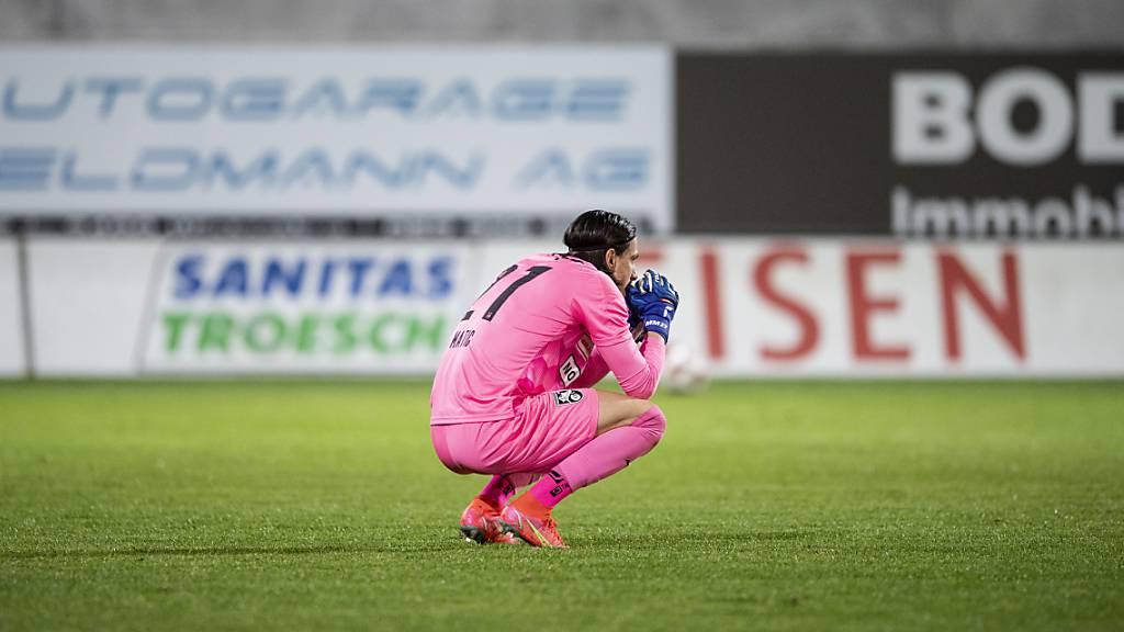 Aufstieg wieder in Gefahr: GC mit Goalie Mateo Matic verliert beim 1:2 in Winterthur zum dritten Mal in Folge
