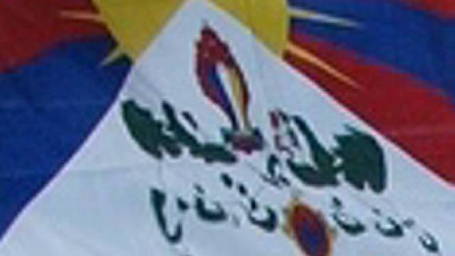 Flagge der Tibeter (Archiv)