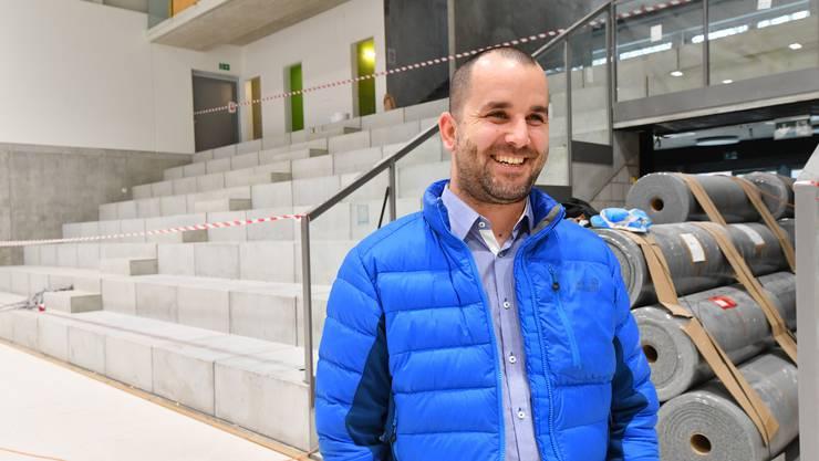 Freudig erregt sei er vor dem heutigen Eröffnungsspiel in der Betoncoupe Arena, sagte Geschäftsleiter Beno Meier im Vorfeld.
