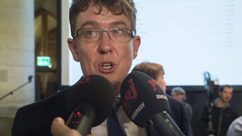 Der Berner Nationalrat Albert Rösti ist vorläufig der einzige Kandidat für das SVP-Parteipräsidium. (Archivbild)