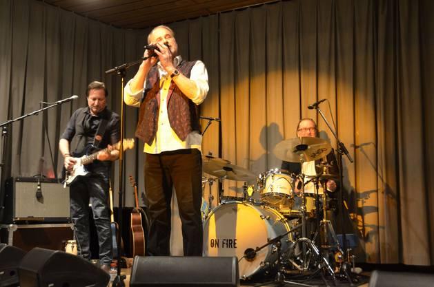 Heinrich Müller  Band spielten eigene Songs und solche von Bruce Springsteen.