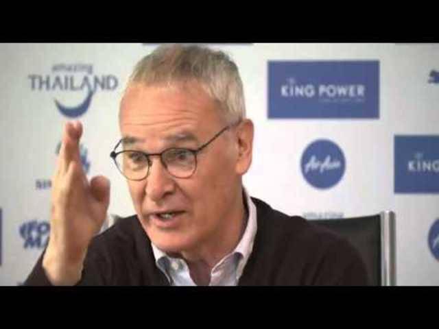 Das legendäre 'Dilly Ding Dilly Dong!!'  von Leicester-Coach Claudio Ranieri