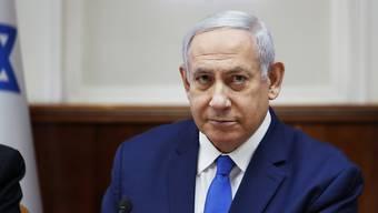 Israels Ministerpräsident Benjamin Netanjahu will die Annexion der jüdischen Siedlungsgebiete im besetzten Westjordanland vorantreiben. (Archivbild)
