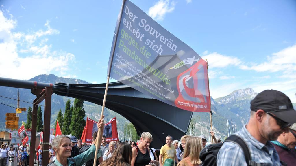 Demonstranten beschweren sich bei Regierung und Bundesgericht