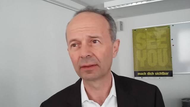 Im Interview Richard Wolff, Zürichs Sicherheitsvorstand