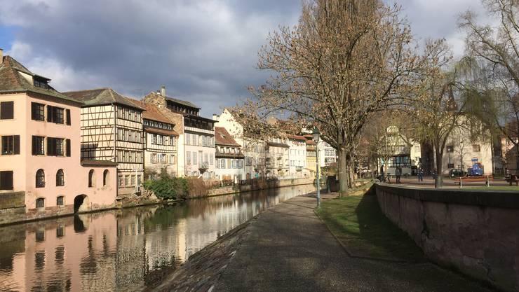 Das Gerberviertel Petite France in Strassburg – dem Front National gelingt der Durchbruch in der Europastadt nicht. Er bleibt bei rund zwölf Prozent.