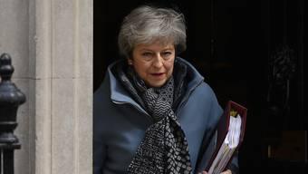 Theresa May: Es könnten ihre letzten Tage als Premierministerin sein.