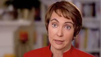 US-Kongressabgeordnete Gabrielle Giffords gibt ihren Rücktritt in einem Video bekannt