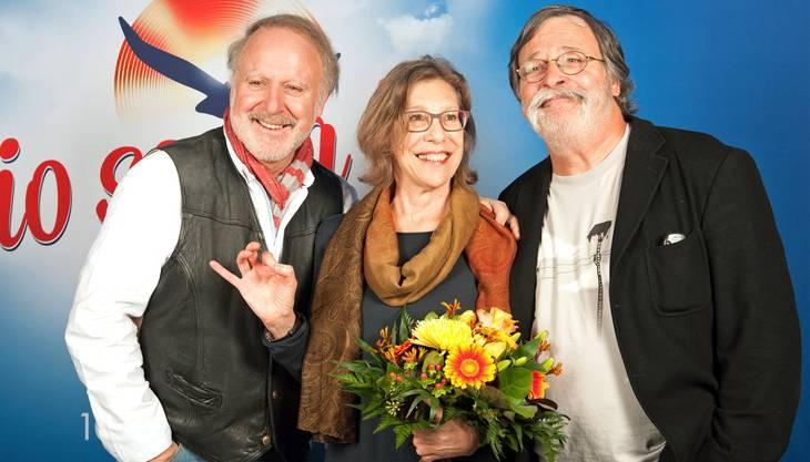 Die Legenden freuen sich auf «ihr»Musical: Peter, Sue & Marc. ZVG