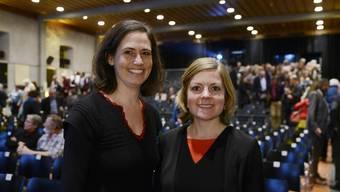 Veronika Roos (l.) übernimmt die Aufgaben von Stefanie Schüpbach.