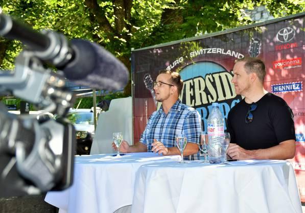 «Wir sind nicht ein, sondern das Festival», sagen OK-Präsident Claudio Pisano (links) und Mediensprecher Alain Schaffner.