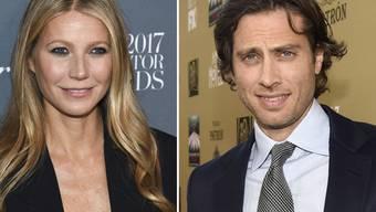 """Hollywood-Traumpaar im Glück: US-Schauspielerin Gwyneth Paltrow und """"Glee""""-Schöpfer Brad Falchuk haben ihre Verlobung bekanntgegeben. (Archivbilder)"""