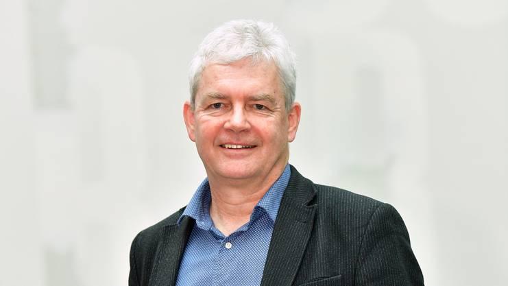Felix Wettstein, Grüne, Olten, kandidiert für den Ständerat Kandidaten-Portraits - aufgenommen in der FHNW Olten - 04-2019