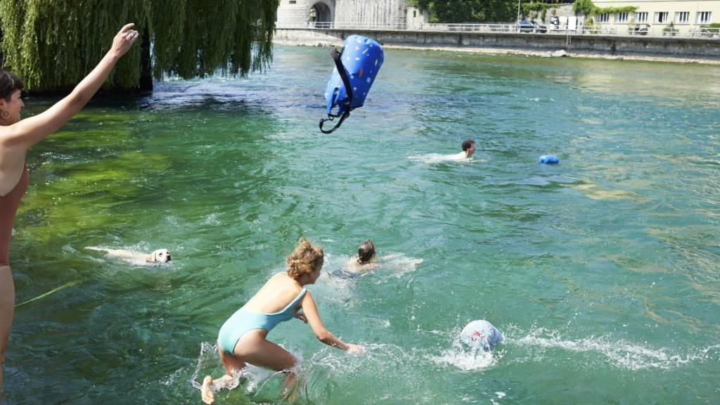 Neue Einstiegsstellen für Luzerner Reussschwimmer