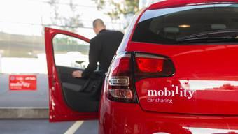 Reservieren und einsteigen: Mobility-Autos stehen rund um die Uhr zur Verfügung.