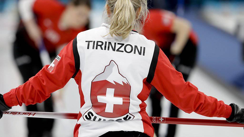 Silvana Tirinzoni will bis zuletzt das Beste geben.