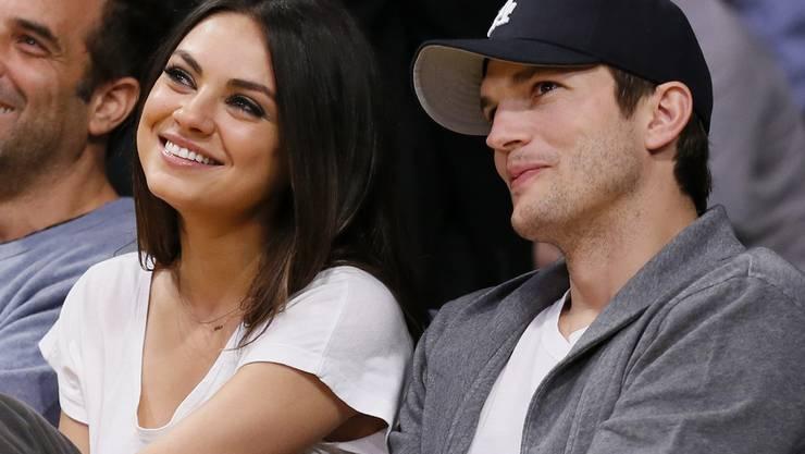 Mila Kunis und Ashton Kutcher wollen so bald wie möglich ein zweites Kind - noch vor der nächsten Badesaison (Archiv)