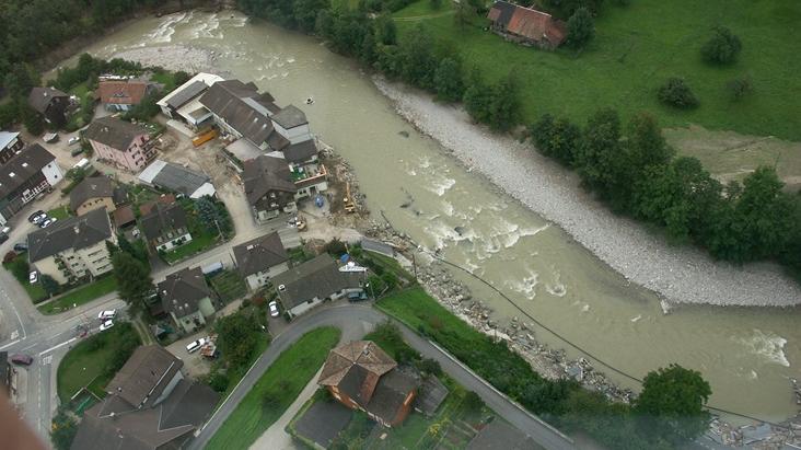 Hochwasserschutz für kleine Emme