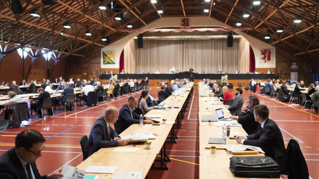 Politik auf Festbänken – der Thurgauer Grosse Rat muss umdisponieren