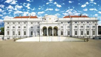 Das Stadtcasino Baden will in diesem prunkvollen Gebäude ein Casino eröffnen