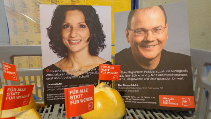 Flyer von Gabriela Suter und  Max Chopard-Acklin Mehr Infos unter:  www.gabrielasuter.ch www.max-chopard.ch
