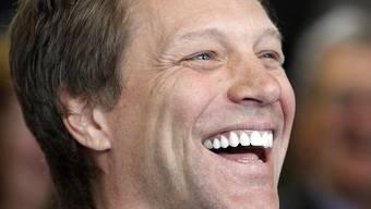 Sozial engagiert: Jon Bon Jovi bei der Eröffnung des Obdachlosenheims für Jugendliche