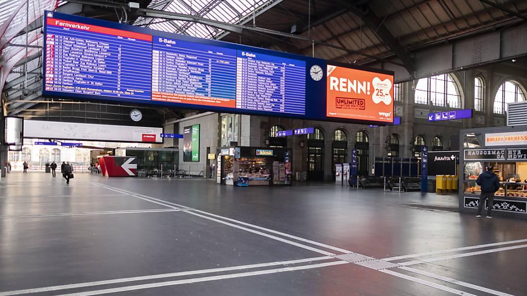 Schweizer Wirtschaft im ersten Quartal um 2,6 Prozent geschrumpft