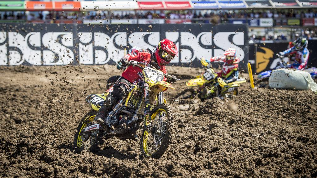 Die Motocross Weltmeisterschaften im Thurgau locken zahlreiche Zuschauer an.