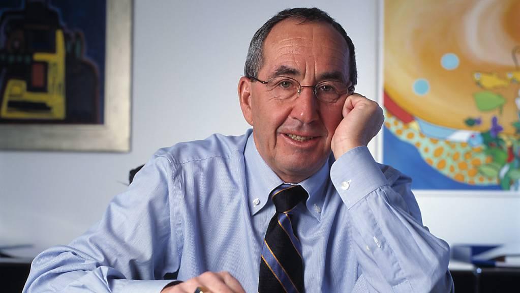 Der bekannte Basler Wirtschaftsprofessor Silvio Borner ist laut einer Traueranzeige seiner Familie am Montag verstorben. (Archivbild)