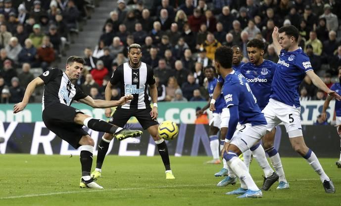 Torgefährlicher Verteidiger: Fabian Schär erzielte für Newcastle bis anhin bereits sechs Tore.