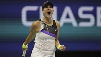 Belinda Bencic ist in Peking gut gestartet