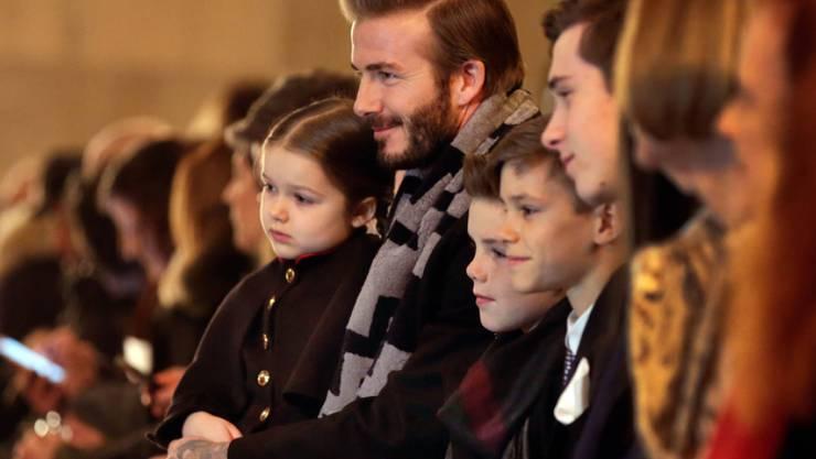 David Beckham tut alles für seine vier Kinder (Archiv)