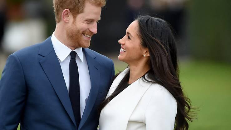 Prinz Harry und Meghan Markle heiraten am 19. März 2018 auf Schloss Windsor. (Archiv)
