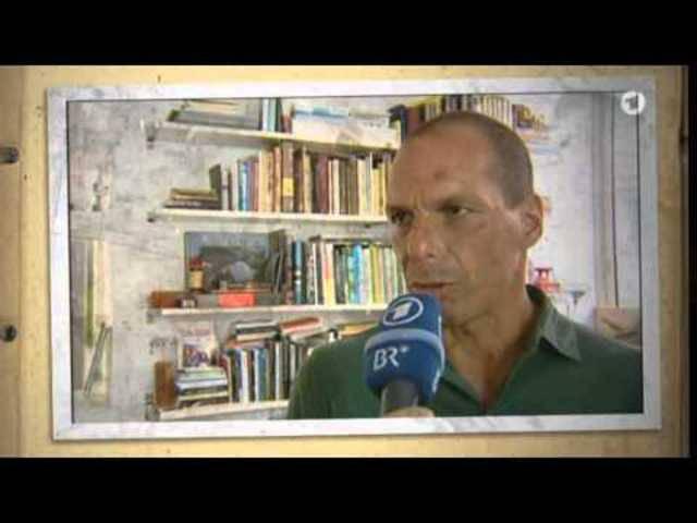 «Dieses Video ist falsch!»: Günther Jauch konfrontiert den griechischen Finanzminister mit dem Stinkefinger-Video – ab Minute 1:36.