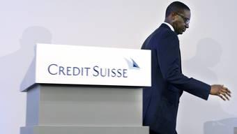 Tidjane Thiam verlässt die Credit Suisse.