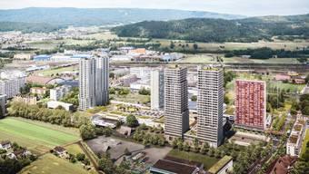 Das Zentrum Neumatt mit seinen vier Hochhäusern, einem Stadtpark und einem Stadtplatz hat für einen hohen Aufmarsch an der Gmeind gesorgt.